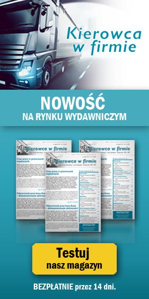 Miesięcznik: Czas Pracy Kierowców